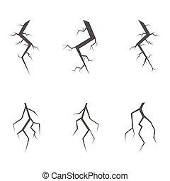 Simple crack set