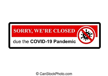 Simple Cutting Sticker, Vector Prohibited Sign, We are ...