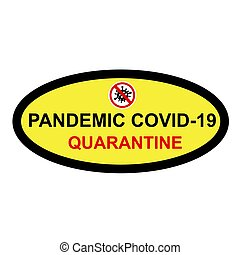 Simple Cutting Sticker, Vector Sign Caution Warning, ...