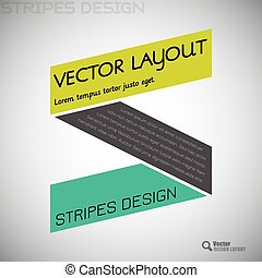Simple design elements. Vector shapes.