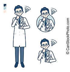 simple Doctor old man_smartphone-sigh - Old Doctor In A ...