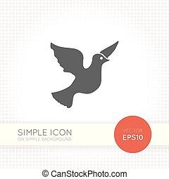 Simple Dove icon