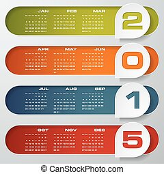 simple editable calendar 2015 - clean design simple editable...