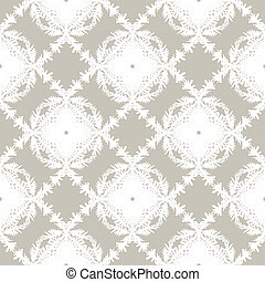 Simple, elegant block printed seamless vector pattern in organic soft brown. Texture for web, print, wallpaper, home decor, summer fall fashion textile, fabric, website or wedding invitation background