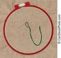 Simple embroidery accessories