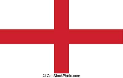 Simple flag of England.