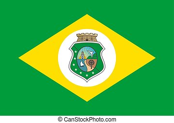 Simple flag state of Brazil