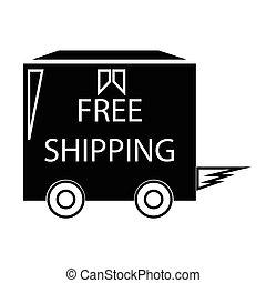 free shipping truck box