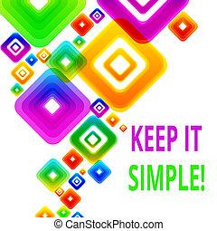 simple., foto, informatietechnologie, overlapping., vragen, ...