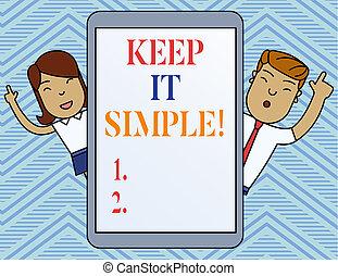simple., foto, informatietechnologie, vingers, niet, iets, ...