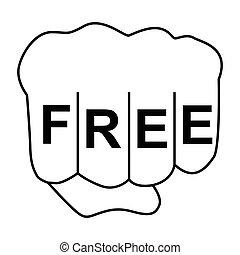 free fist icon