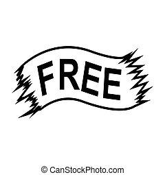 free ribbon icon