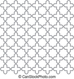 Simple geometric seamless vector texture