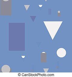 Simple geometry seamless pattern