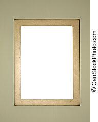 simple golden frame