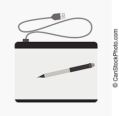 Simple Graphic Tablet with Pen