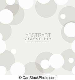 simple gray background with circles