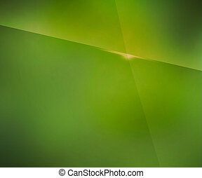 Simple Green Blur Background