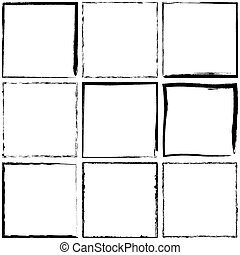 Simple Grunge Frames