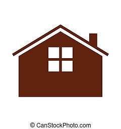 Simple Guest House Simple Vector Graphic Illustration Image