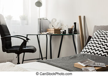 Simple home office area