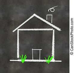 Simple House Illustration