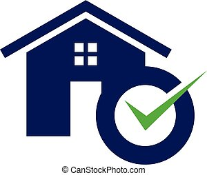 Simple housing and real estate icon accept for web icon or mobile APP