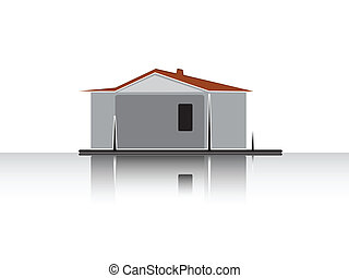 Simple illustration of house