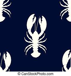 simple lobster pattern