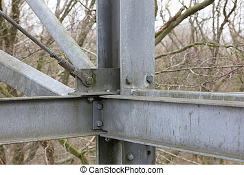 Simple metal construction
