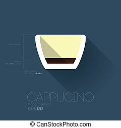 Simple Modern Cappucino Manual Wallpaper