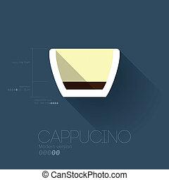 Simple Modern Cappucino Manual Wallpaper