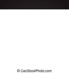 simple, moderne, conception, branché, conception, toile, concept., forêt noire, internet, symbole, site web, montagnes, signe., fond, icône, graphique, mobile, bouton, app., vecteur, ou
