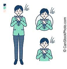 simple, niño, escuela, verde, blazer_cross-with-arms