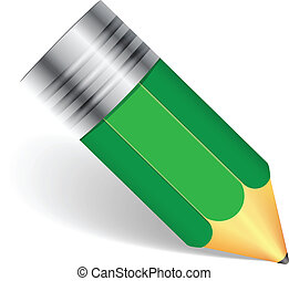 simple pencil green