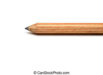 simple pencil isolated on white background
