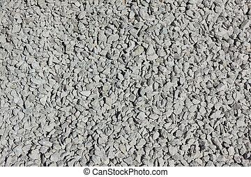 simple, pequeño, grayish, piedras