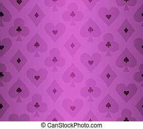 Simple purple poker background with transparent effect
