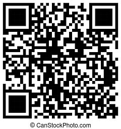 Simple QR Code bar template for private and commercial use