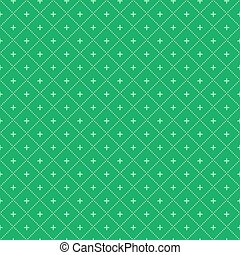 Simple Seamless Geometric Pattern. Vector Background