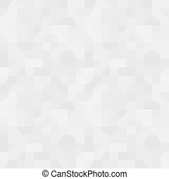 Simple seamless vector pattern - light gray abstract geometric figures background