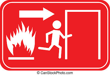 Sign Emergency Exit