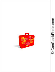 simple suitcase icon - Suitcase Icon Great uses in almost...