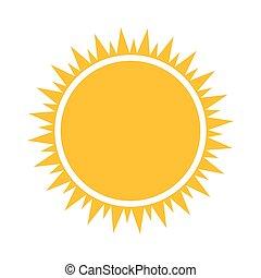 Simple sun icon