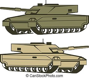 Simple tanks vector