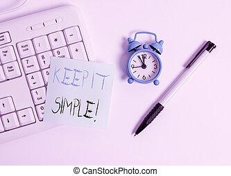 simple., tekst, informatietechnologie, meldingsbord, niet,...