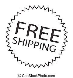 free shipping symbol star