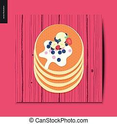Simple things - pancakes