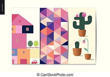 Simple things - postcards set
