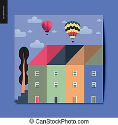 Simple things - townhouses
